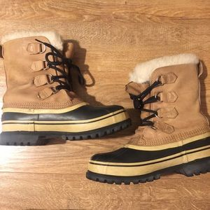 Sorel caribou women's winter snow boots